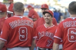 Collin Cowgill Gary DiSarcina smiling