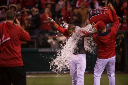Carlos Perez welcomes his BODYARMOR Bath after debut